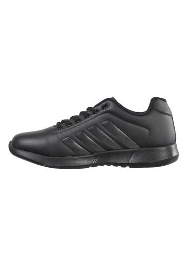 Bestof 047 Siyah Unisex Spor Ayakkabı Siyah